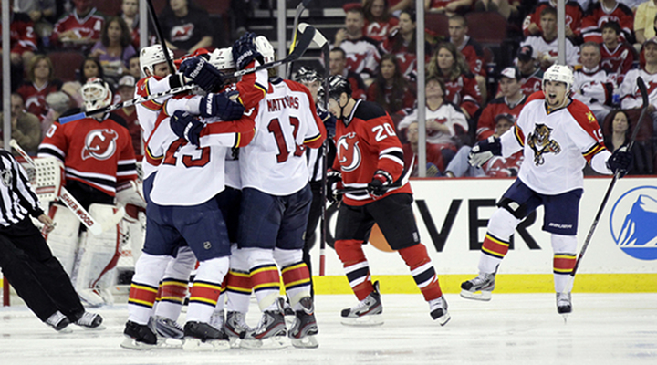 Slap Shots: Florida Panthers Storm Back from a 3-0 Deficit to Beat the Devils 4-3 in Jersey - Panthers Lead Series 2-1