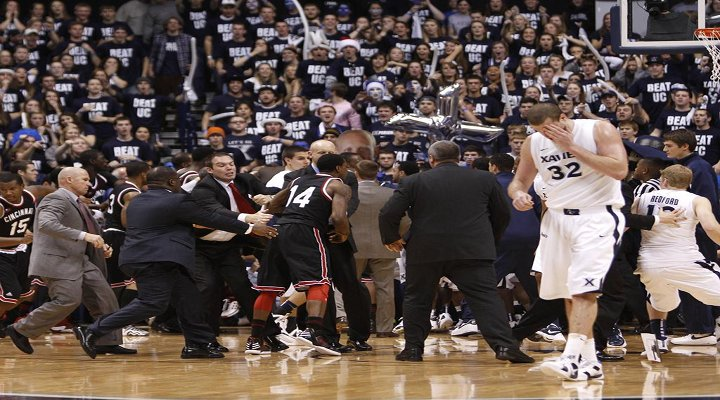 Cincy-Xavier Rivalry Continues but Will be Played on a Neutral Court....