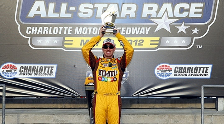 Kyle Busch Captured Pole for the Sprint All-Star Race....