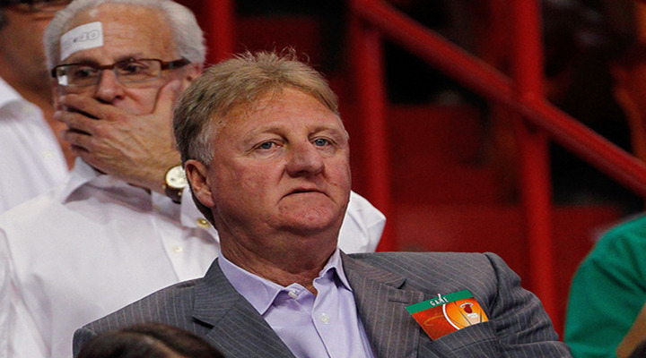 "Pacers President Larry Bird Calls Team ""S-O-F-T"" after Game 5 Loss to Heat...."