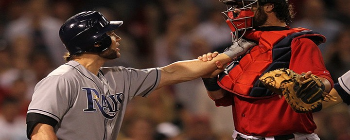 Red Sox and Rays Nearly Brawl in Ninth Inning as Tampa Bay Wins 7-4....