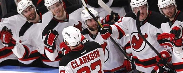 Clarkson Scores Late Third Period Goal to Give the Devils a 3-2 Win over Rangers - Series Tied 1-1