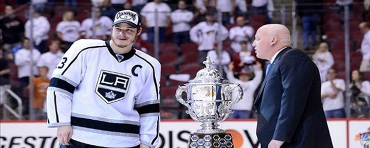 LA's Dustin Penner Scores late in Overtime as Kings Advance to the Stanley Cup Finals!