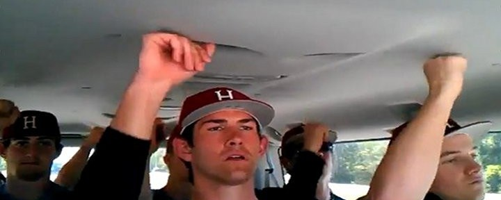 "Video:The Harvard Baseball Team Singing Carly Rae Jepsen's ""Call Me Maybe""…."