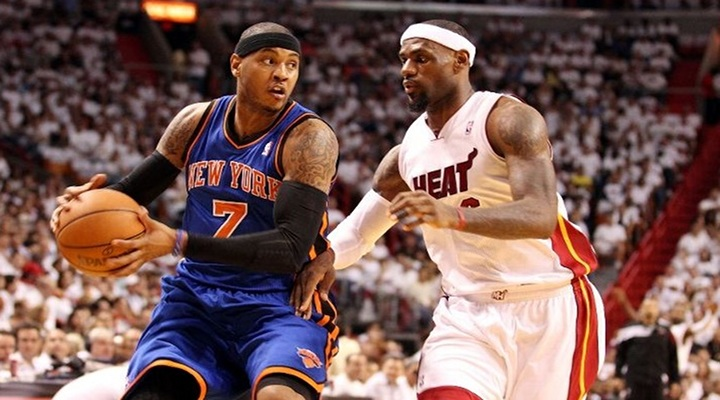 Miami Heat Send the Knicks Packing 106-94 and Now Face Pacers.....