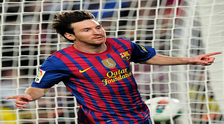 Lionel Messi Broke Gerd Mueller's 39-Year-Old Record For Goals in a European Club Season in Barcelona 4-1 Win over Malaga.