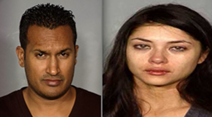 Arianny Celeste & Boyfriend's Mugshots: She Kicked Him in the Face