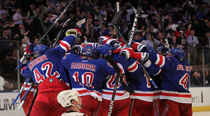 New York Rangers Edge Capitals 2-1 in Game 7 to Advance to the Eastern Conference Finals...