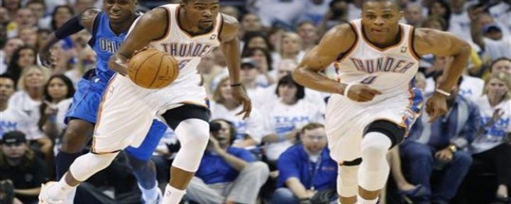 Russell Westbrook Scores 29 as Thunder Edge Mavs 102-99 in Game 2 - O.C. Lead Series 2-0