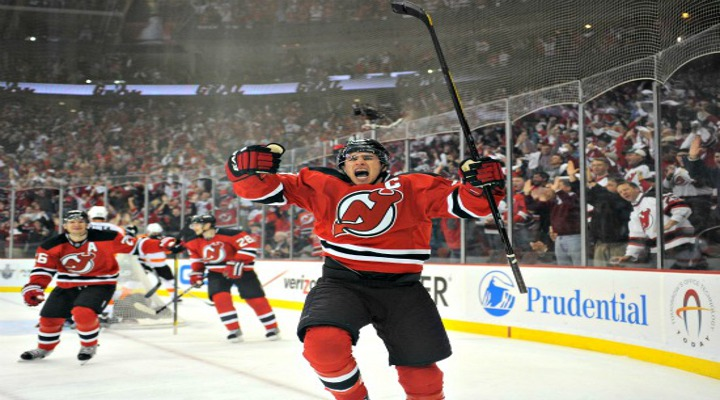 Ponikarovsky Scores in Overtime to Beat the Flyers 4-3 in New Jersey - Devils Lead Series 2-1