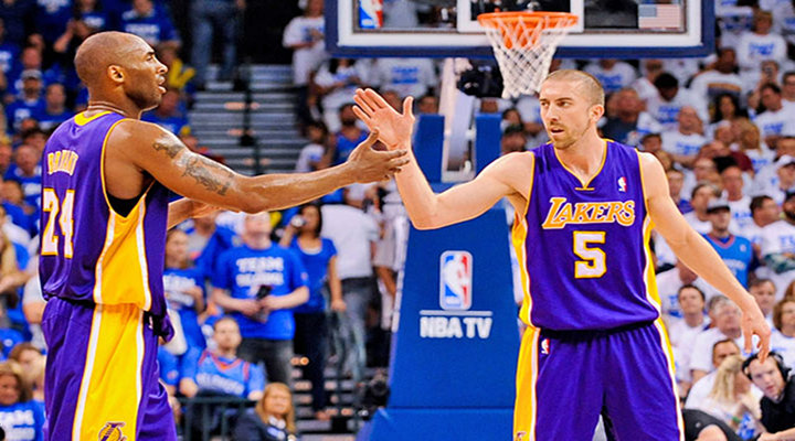 Lakers' Steve Blake & Wife Threatened on Twitter After Game 2 Loss to Thunder...