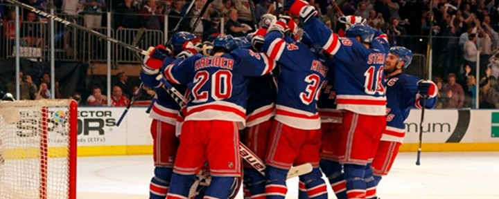 Rangers Use Three Third-Period Goals & a Shutout from Henrik Lundqvist for the 3-0 Win Over Devils.
