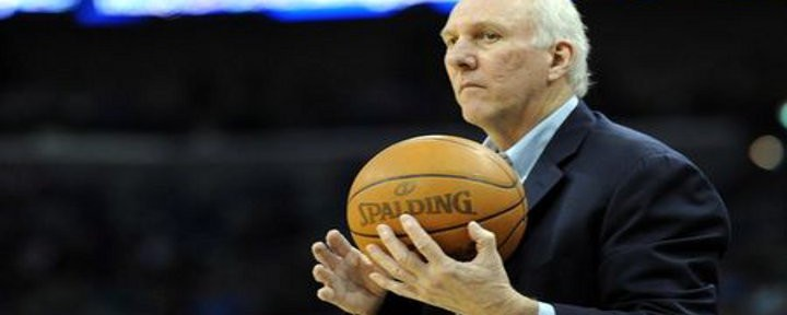 San Antonio Spurs Coach Greg Popovich Wins Coach of the Year Award