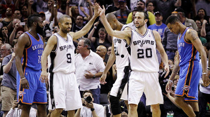 Tony Parker Scores 34 Points as Spurs Take Down the Thunder 120-111....