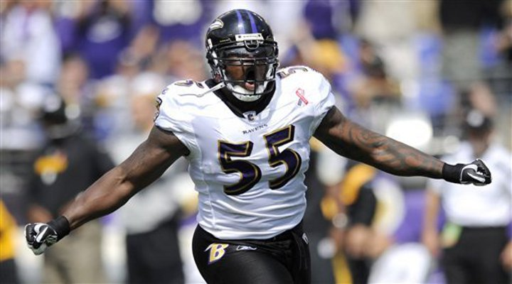 Terrell Suggs Out For Year With Torn Achilles, Possibly Injured While Playing Basketball...