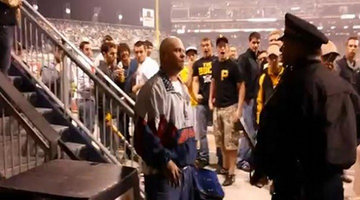 PNC Park Security Guard Lost a Finger After Being Assaulted By Fan....!!!