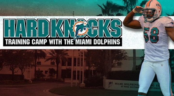 The Miami Dolphins Will Be Featured On HBO's Hard Knocks...
