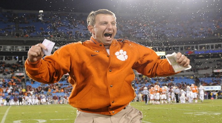 Clemson Rewards Erratic & Mediocre Dabo Swinney With Contract Extension...