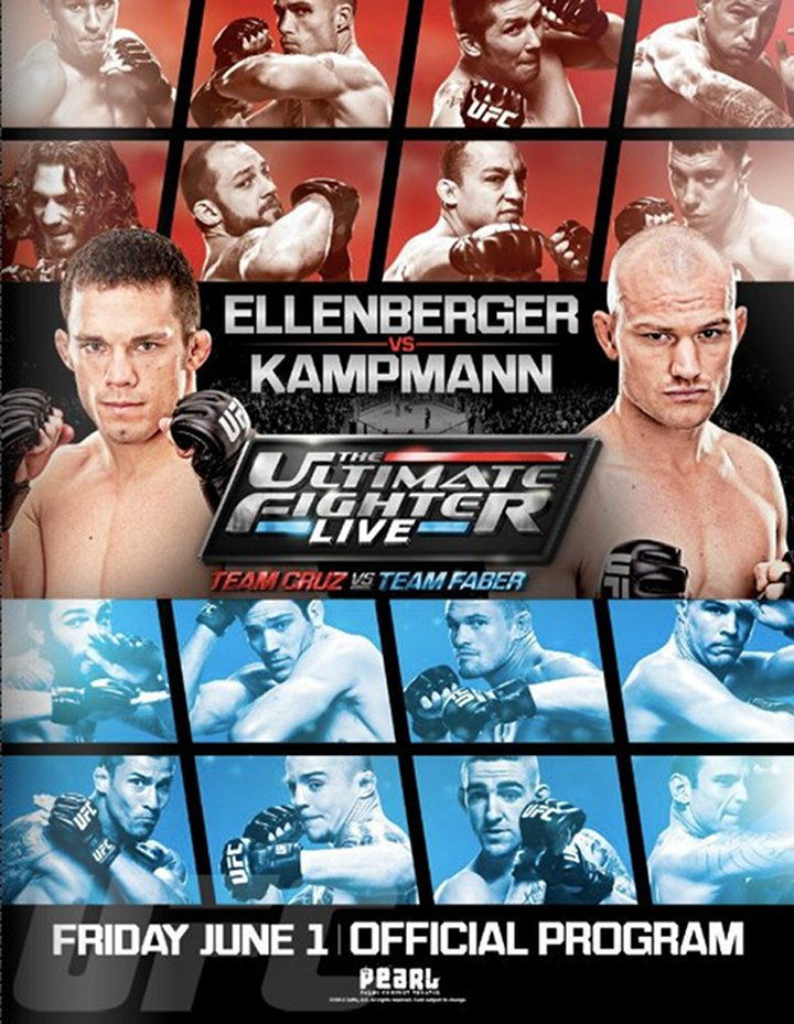 UFC Ellenberger Vs. Kampmann Live! FREE on FUEL TV at 4PM PT and 6PM PT Today! June 1st!