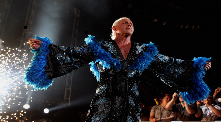 BONEHEAD: Wrestling Star Ric Flair Allegedly Beat Up by Wife Again