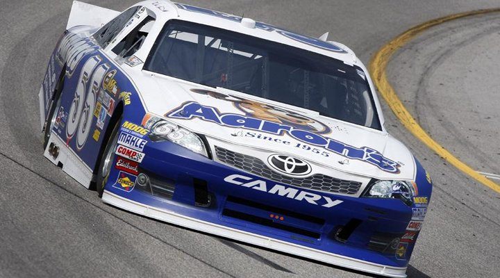 Mark Martin Takes the Pole at Dover for His Third of the Season....