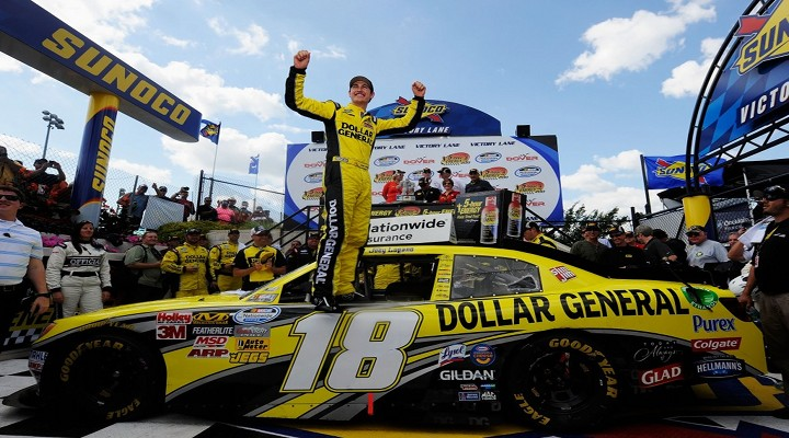 Joey Logano Wins at Michigan Speedway For His 5th Nationwide Win of the Year...