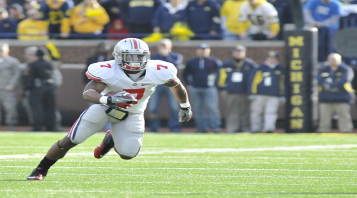 Ohio State's Jordan Hall, No. 1 Running Back, Out for 10 Weeks After Cutting His Foot While Walking Through Grass