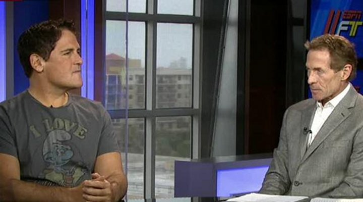 VIDEO:  Mavs Owner Mark Cuban Eviscerated Skip Bayless on First Take