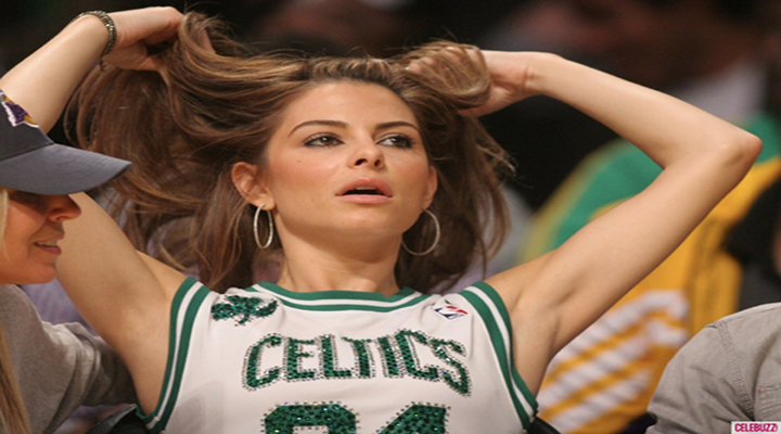 Video: Maria Menounos is a Huge Boston Celtics Fan, and Loud Too!
