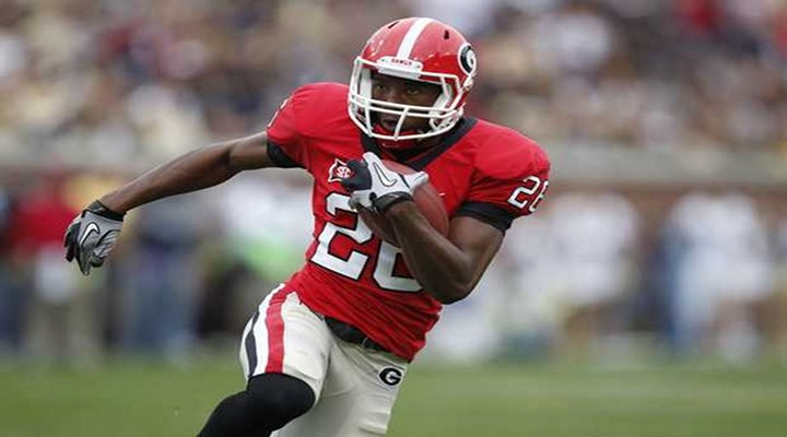 BoneHead: Georgia Running Back Isaiah Crowell Arrested On Weapons Charges...