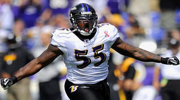 Ravens Linebacker Terrell Suggs Hurts Achilles Tendon Playing in Basketball Tourney....