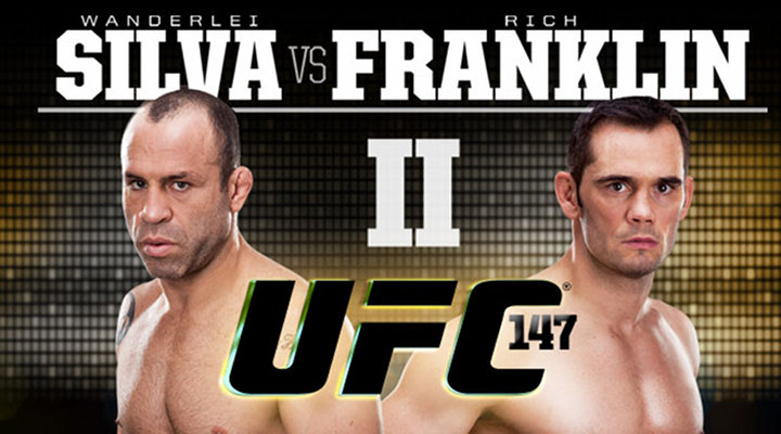 Wanderlei Silva to Face Former Middleweight Champion Rich Franklin at UFC 147...