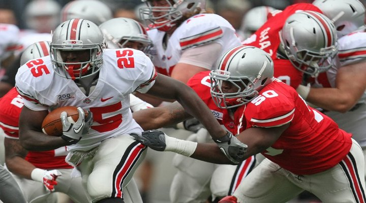 BoneHead: Ohio State RB Bri'onte Dunn Avoids Marijuana Charges After Mom Takes Rap