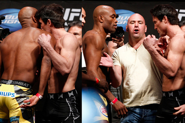 "Anderson Silva Vs. Chael Sonnon Weigh-In ""Must Watch!"""