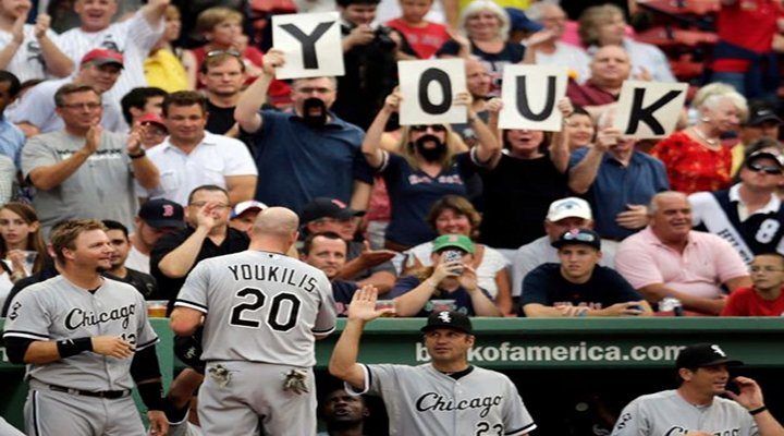 BeanTown: Kevin Youkilis Hits First Home Run Vs Former Team to Give White Sox 7-5 Win...