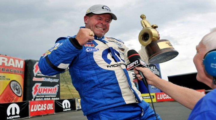 VIDEO - NHRA: Pro Stock Racer Allen Johnson Races to His Fourth Win in Colorado...