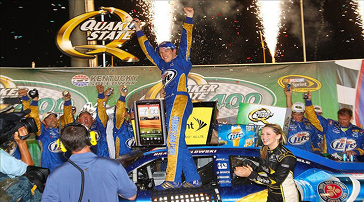 Brad Keselowski Wins at Kentucky Speedway, For His Third Win of the Season...