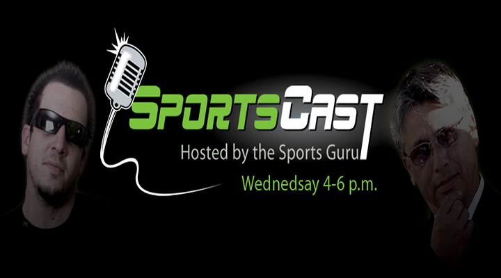 SportsCast: Episode 31 (06/06/12) –Special Guest Sam Tripoli and Chris Marrs Co-Host with the Sports Guru