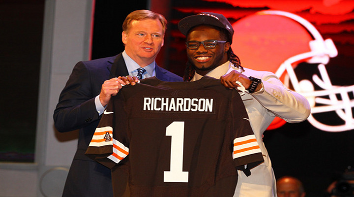 NFL News: Cleveland Browns Sign First-Round Pick RB Trent Richardson to Four-Year Deal...