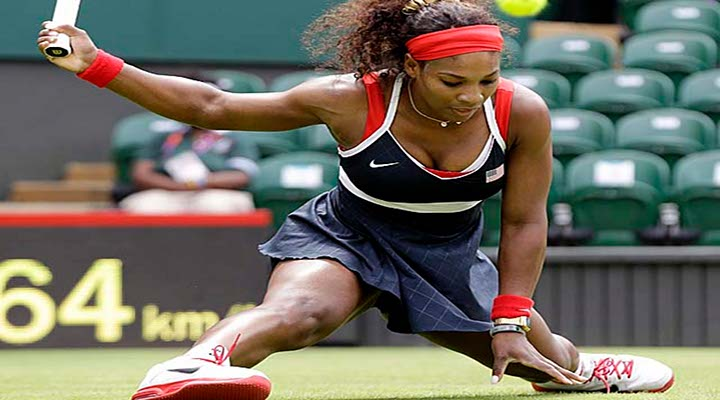 London 2012: Serena Williams & Roger Federer Advance to Second Round at Olympics...
