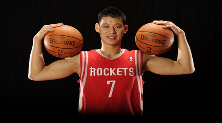 """LINSANITY"" in Texas: Jeremy Lin is Introduced as a Houston Rocket Today, Will Wear #7..."