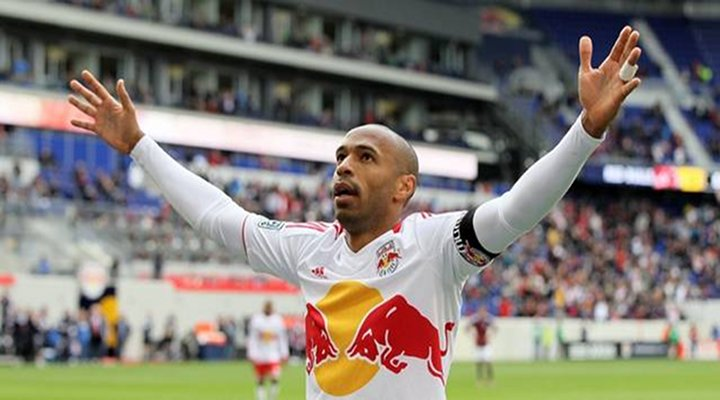 Video:Thierry Henry Scored Sick Goal for the Red Bulls & Brushed the Dirt Off His Shoulders...
