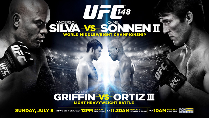 The Biggest UFC Event Of The Year Is Here! UFC 148 Silva Vs. Sonnon!