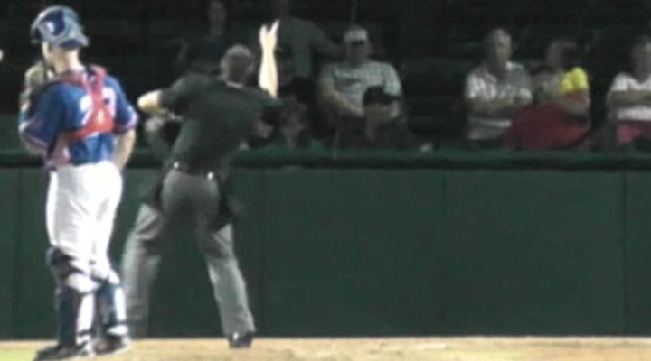 """Minor League Umpire Ejects Guy in Charge of Stadium Music for Playing """"Three Blind Mice"""""""