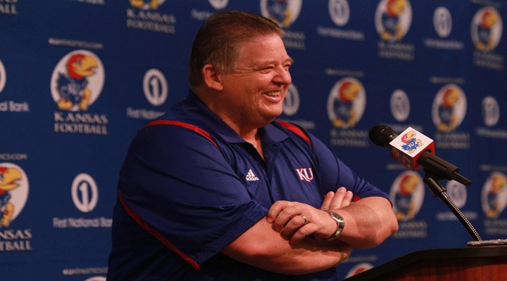 """Charlie Weis Wants to Have a """"Fist Fight"""" With Kansas Fans Who Leave Early"""