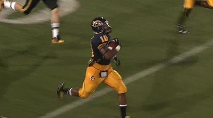 Video: Kent State's Andre Parker Returns a Fumble the Wrong Direction