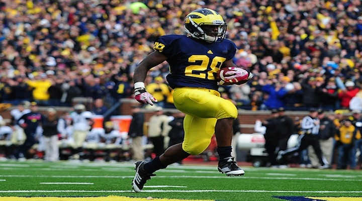 Michigan Suspends RB Fitzgerald Toussaint and DE Frank Clark for Alabama Game