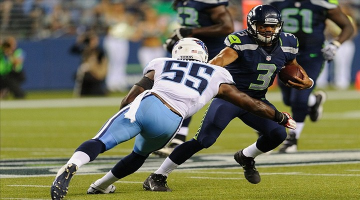 Seahawks Rookie QB Russell Wilson Scored Two Touchdowns in His First Preseason Game