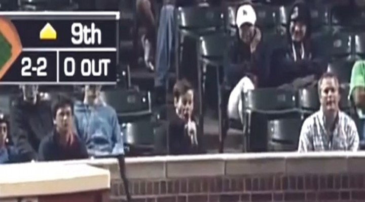 Video: Cubs Fan Tossed From Game For Making Blowjob Gestures Behind Home Plate...