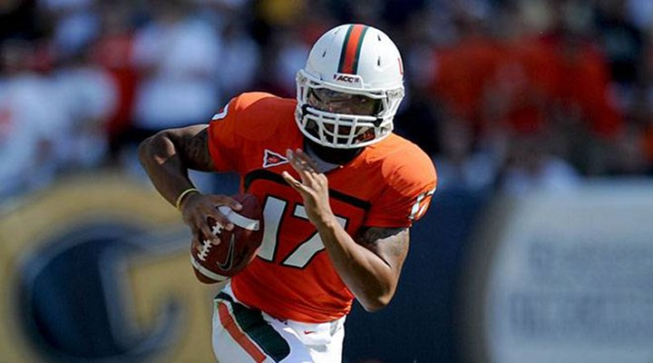 Miami Beat N.C. State on Stephen Morris' 62-Yard Bomb to Phillip Dorsett to Win 44-37 [Video]